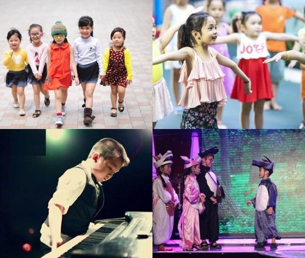 khoá học lớp diễn viên nhí trung tâm đào tạo nghệ thuật Á Châu