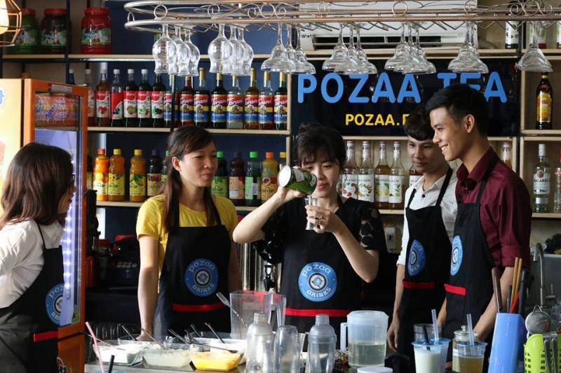 Trung tâm đào tạo pha chế POZAA Drinks