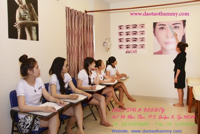 Trung Tâm Đào Tạo Thẫm Mỹ CaLi  -  Trường dạy nghề thẩm mỹ uy tín và chất lượng nhất TP. HCM