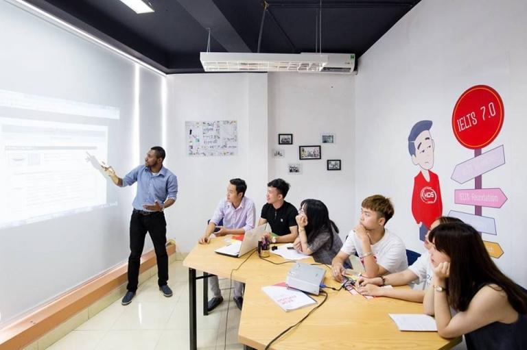 Trung tâm đào tạo tiếng Anh KOS English Center