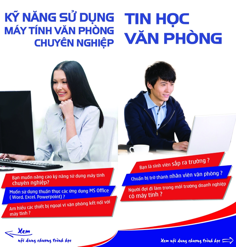 Top 8 Trung tâm đào tạo tin học văn phòng tốt nhất tại Cần Thơ