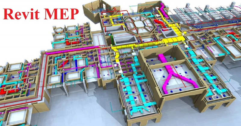Một mô hình sẽ triển khai trên autocad tại trung tâm.