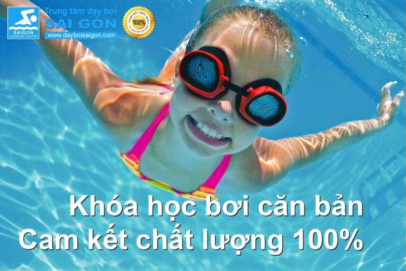 Trung tâm cam kết chất lượng tốt nhất và đáp ứng mọi kỳ vọng khi cho bé học bơi tại đây