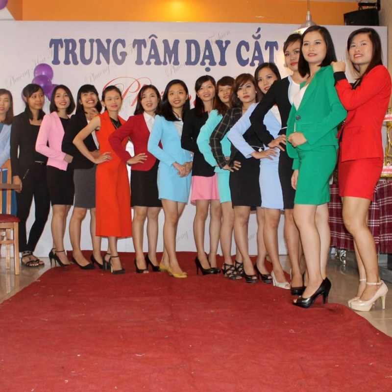 Trung tâm dạy cắt may Phương Hoa -  Trung tâm dạy nghề may uy tín nhất Hà Nội