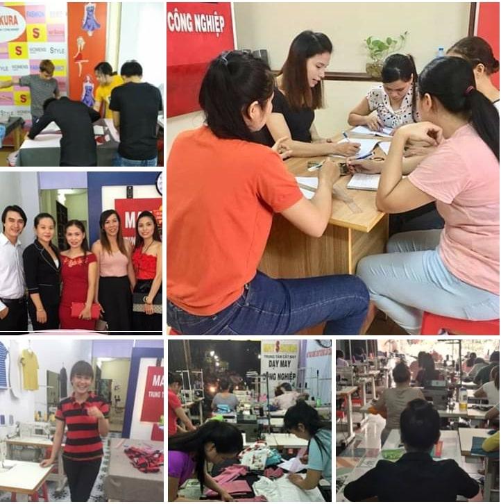Trung tâm dạy cắt may Thời Trang Công Nghiệp Sakura