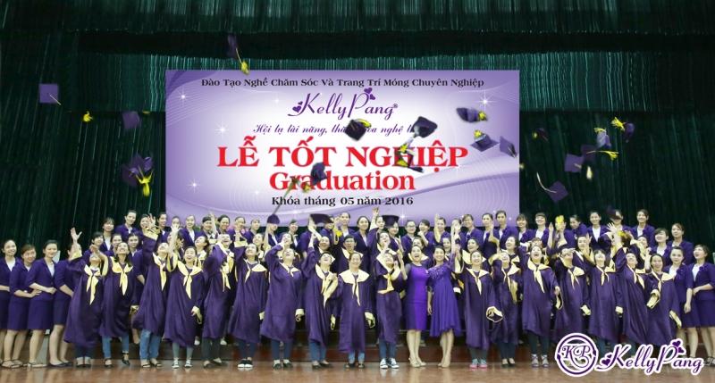 Lễ tốt nghiệp của học viên tại KellyPang Nail