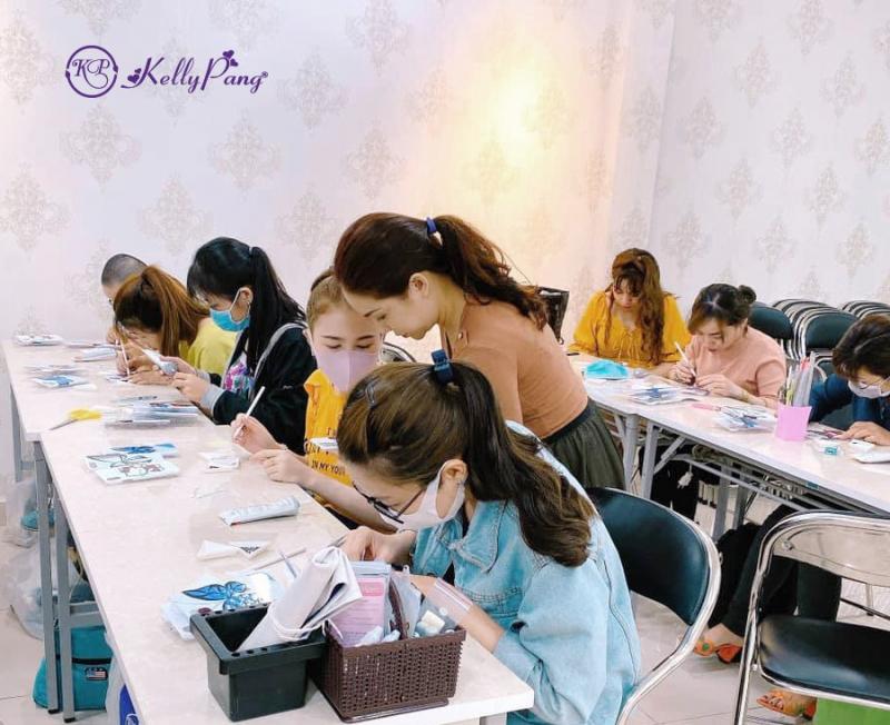 Trung tâm dạy học nail KellyPang