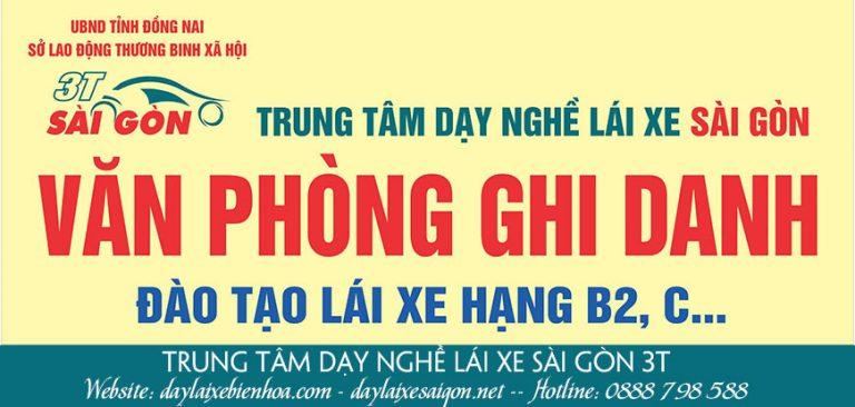Trung Tâm Dạy Nghề Lái Xe Sài Gòn 3T