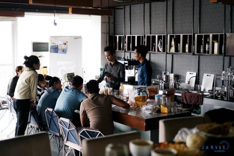 Trung tâm dạy nghề pha chế coffee Jarvis
