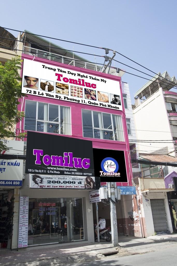 TomiLuc là đơn vị đào tạo uy tín nhất trong lĩnh vực làm đẹp