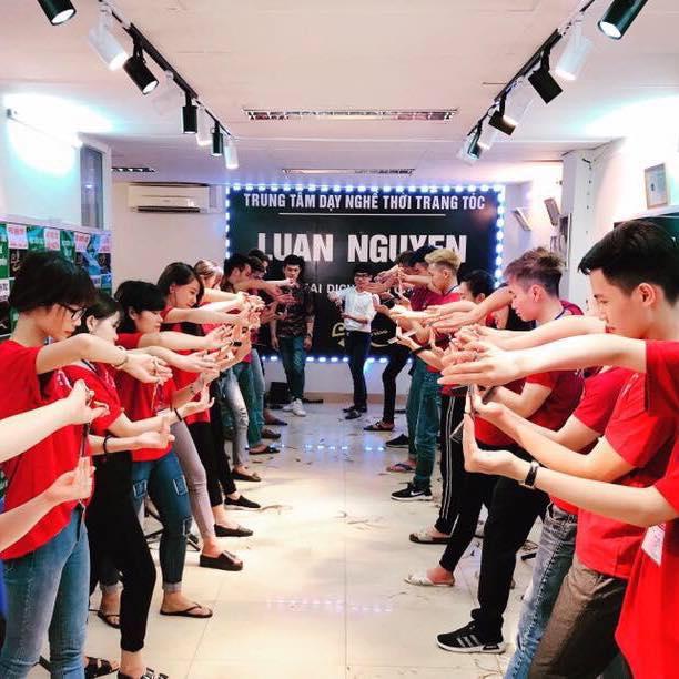 Trung tâm dạy nghề tóc LUAN NGUYEN - nơi đào tạo nghề tóc uy tín nhất tại Hà Nội