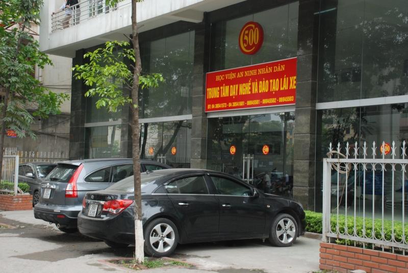 Trung tâm Dạy nghề và đào tạo lái xe Học viện An ninh (C500)