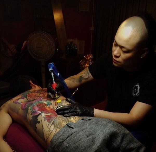 Trung tâm dạy nghề xăm tại Aoki Tattoo Studio