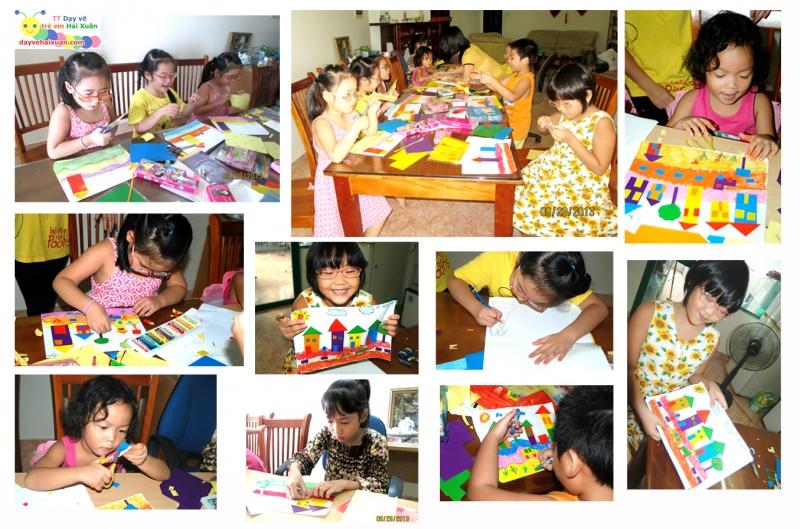 Trung tâm dạy vẽ trẻ em Hải Xuân