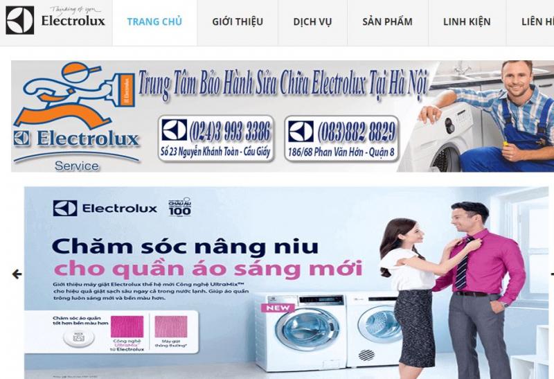 Trung tâm dịch vụ Electrolux - Hà Nội