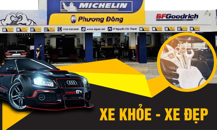 Trung Tâm Dịch Vụ Ô tô Michelin Phương Đông