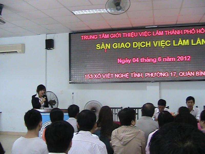 Trung tâm Dịch vụ việc làm Thành phố Hồ Chí Minh