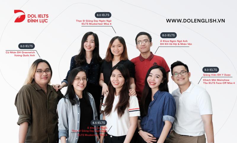 DOL IELTS Đình Lực - Học Viện Tiếng Anh Tư Duy đầu tiên tại Việt Nam