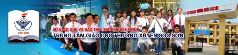 Trung tâm GDTX Sóc Sơn