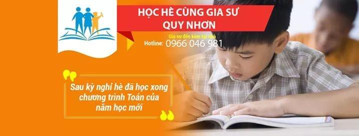 Trung tâm gia sư Quy Nhơn