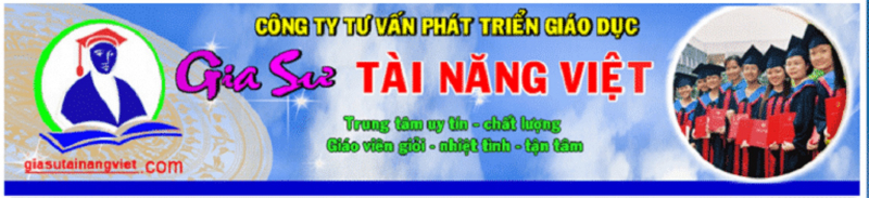 Trung tâm Gia sư Tài Năng Việt