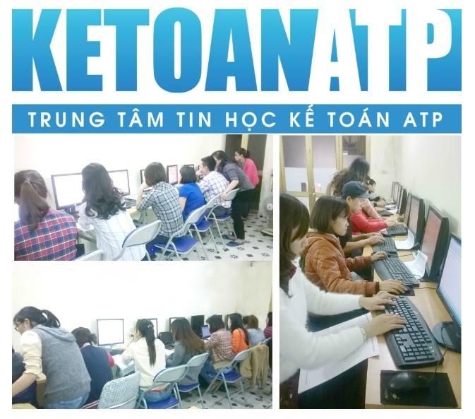 Hình ảnh các lớp học tại trung tâm giáo dục đào tạo tin học và kế toán ATP