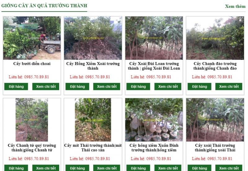 Trung tâm giống cây trồng F1 - Học viện nông nghiệp Việt Nam