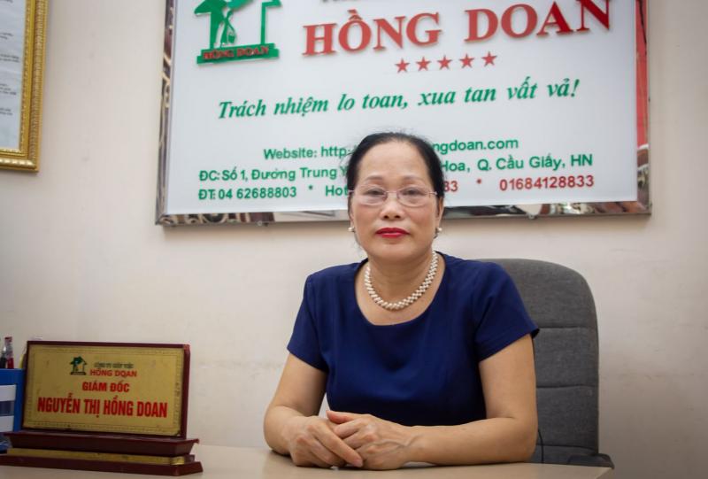 Giám đốc Nguyễn Thị Hồng Doan