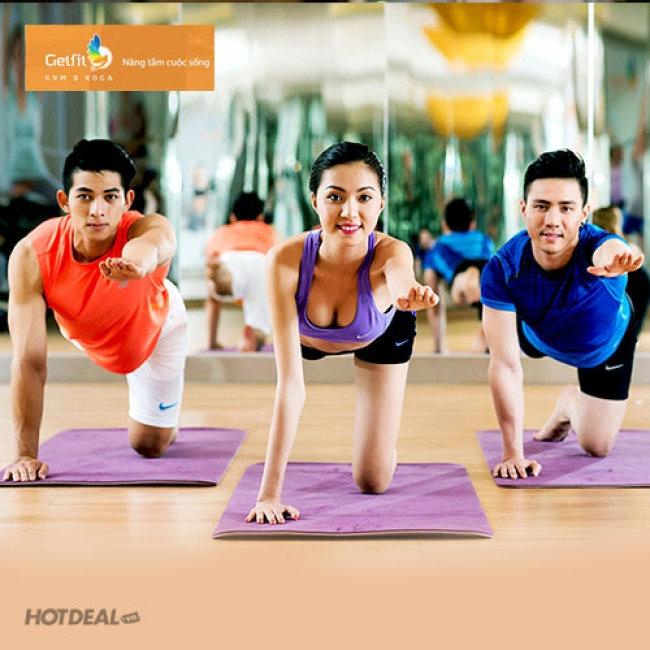 Trung tâm Gym & yoga Getfit là một phòng tập yoga chuyên nghiệp, đẳng cấp