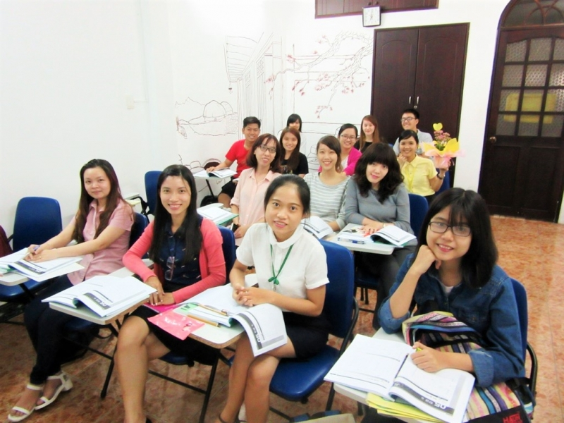 Các học viên tại trung tâm Hàn Ngữ Han Sarang