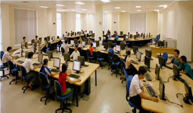 Bên trong Trung tâm học liệu Đại học Đà Nẵng