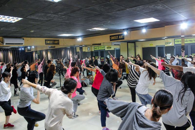 Trung tâm học nhảy hiện đại Sweet Art