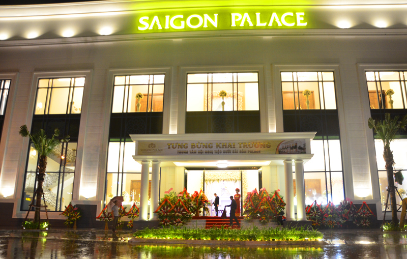 Trung tâm Hội nghị tiệc cưới Sài Gòn Palace