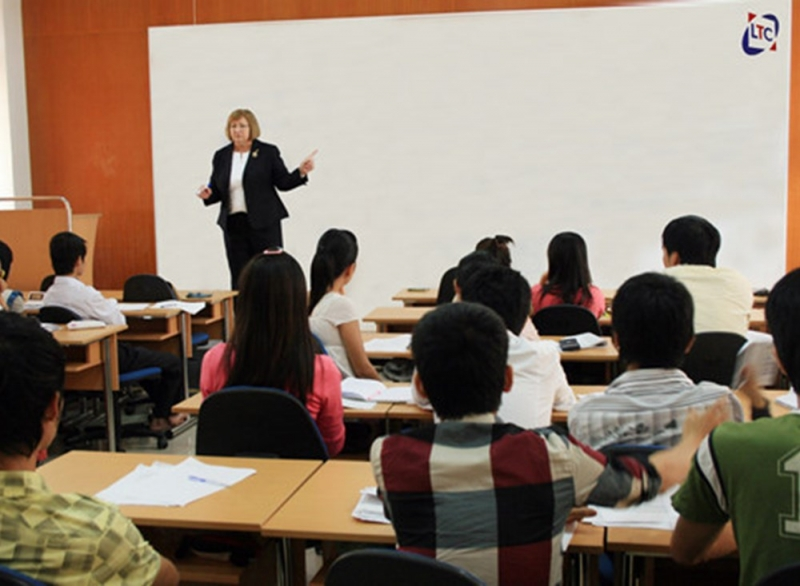 Đội ngũ giảng viên trong và ngoài nước của Trung tâm LTC có trình độ chuyên môn cao