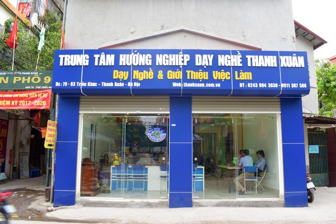 Trung tâm hướng nghiệp và dạy nghề Thanh Xuân