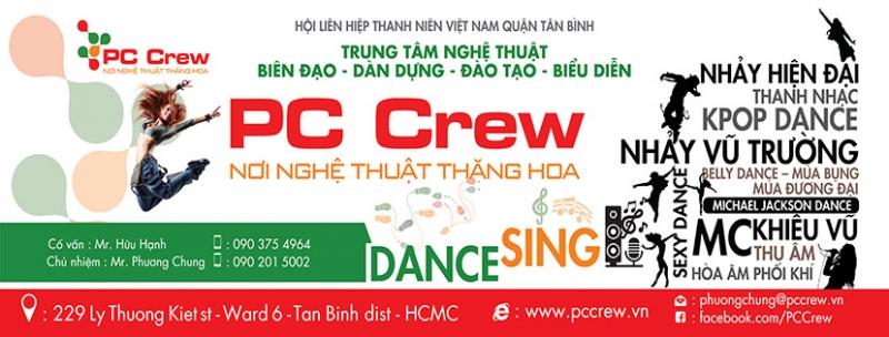 Trung Tâm khiêu vũ PC CREW đang là địa điểm học khiêu vũ ở TPHCM được yêu thích nhất trong giới trẻ