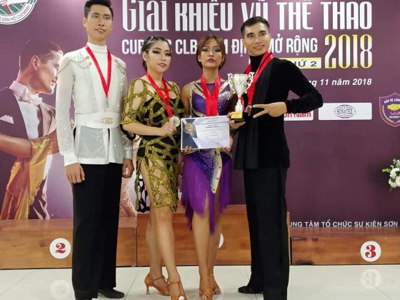 Trung tâm khiêu vũ thể thao VietSdance tại Hà Nội
