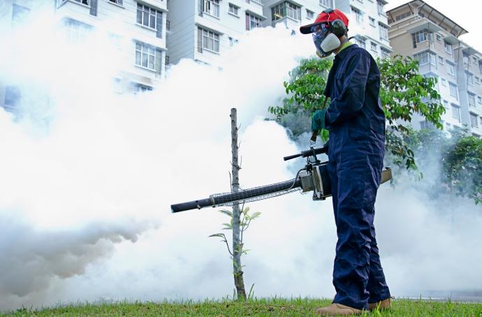 Trung Tâm Kiểm Dịch Hà Nội dùng phương pháp diệt muỗi an toàn, hiệu quả với hóa chất từ Anh Quốc