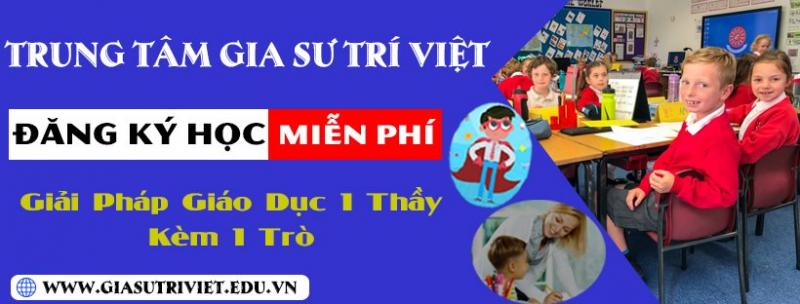 Trung tâm luyện chữ đẹp Trí Việt