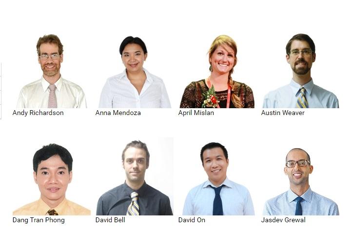 Đội ngũ giáo viên ACET