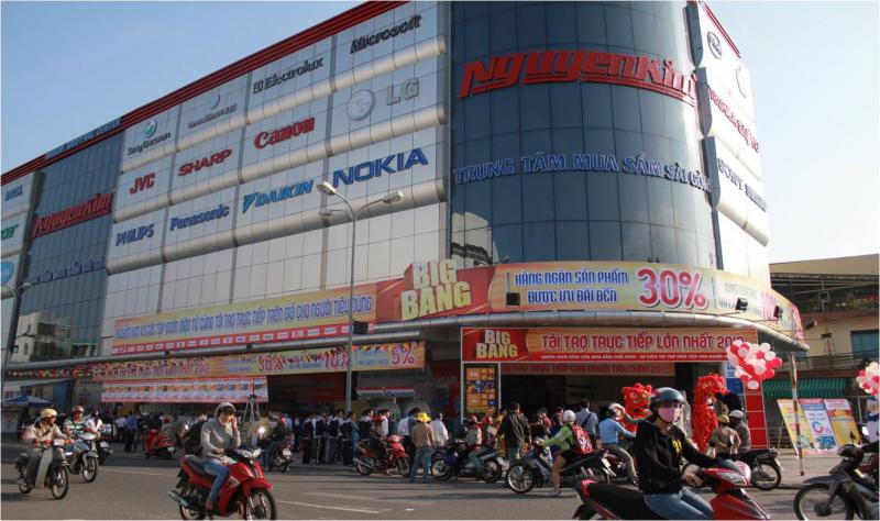 Trung tâm mua sắm Nguyễn Kim Đà Nẵng