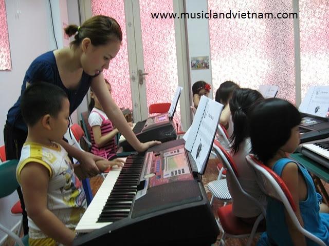 Trung tâm Musicland -  trung tâm dạy đàn Organ chất lượng tại Hà Nội