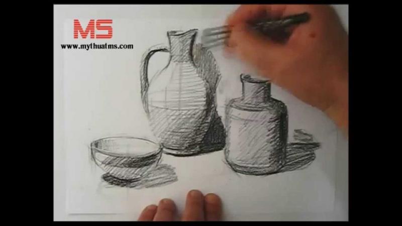 Trung tâm MS dạy vẽ từ cơ bản đến nâng cao