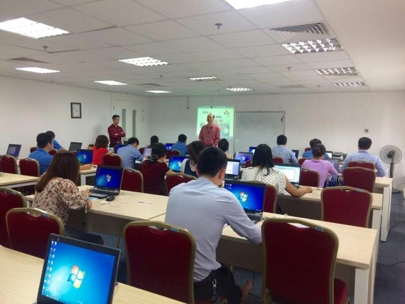Một lớp học tại Trung tâm Netpro