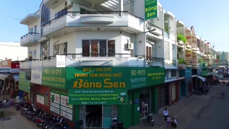 Trung tâm ngoại ngữ Bông Sen