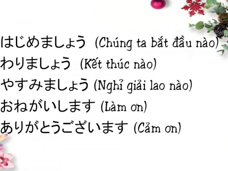 Trung tâm dạy tiếng Nhật