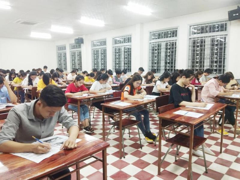 Học viên tại trung tâm
