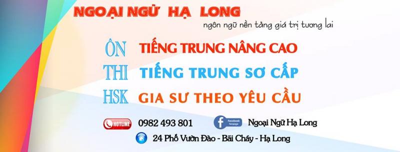 Trung tâm ngoại ngữ Hạ Long - tiếng Trung Bãi Cháy