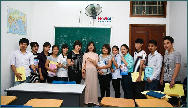 Hình ảnh học viên tại trung tâm