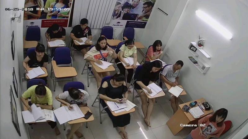 Không gian học tập tại Trung tâm ngoại ngữ Panda Hạ Long